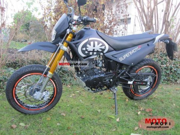 2008 Kreidler Supermotard 125 DD Reduced Effect