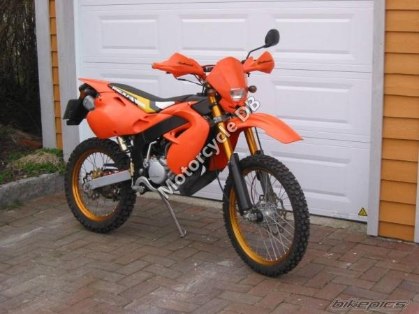 Kreidler Supermotard 125 DD Reduced Effect