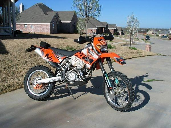 KTM 525 MX Desert Racing