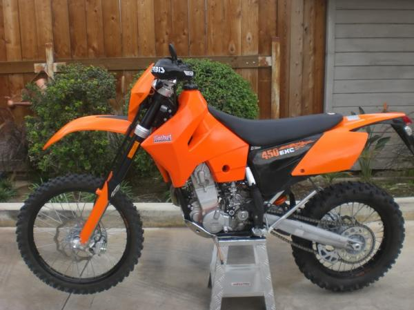 2004 KTM 525 MX Desert Racing