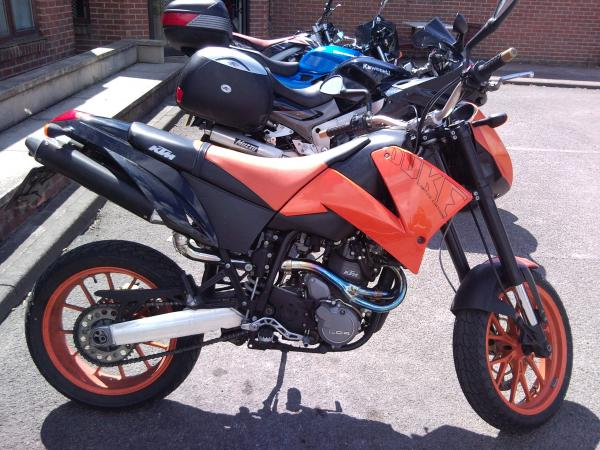 KTM 640 Duke II Limited Edition