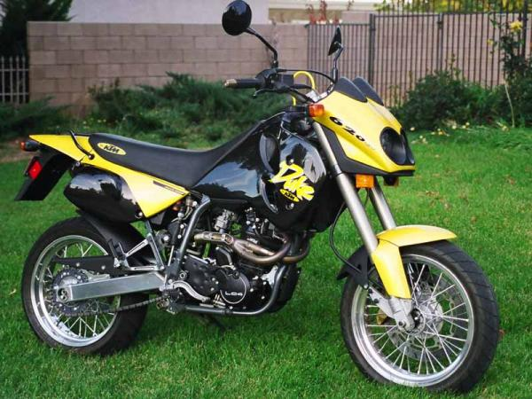 KTM 640 Duke II Yellow/Black