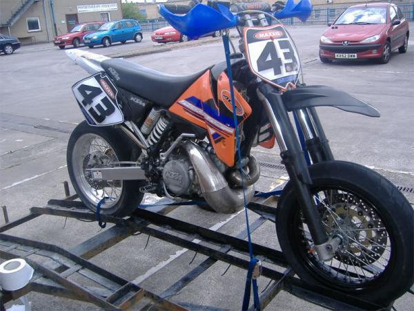 KTM 660 Supermoto Factory Replica