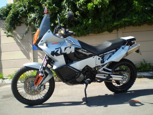 2004 KTM 950 Adventure Silver/Orange/Black
