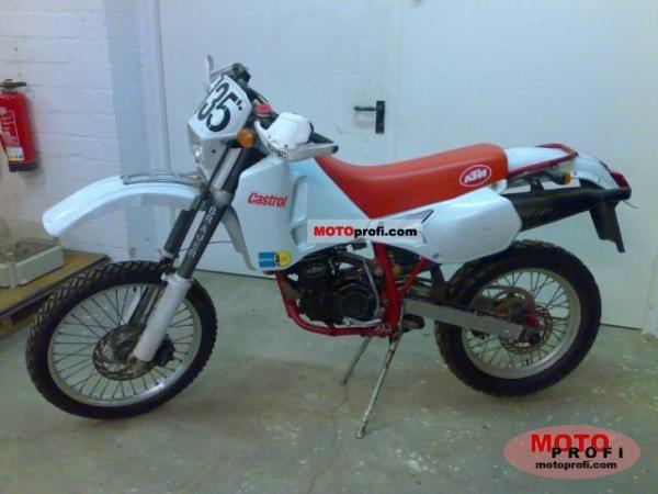 1992 KTM Enduro 600 LC 4 (reduced effect)