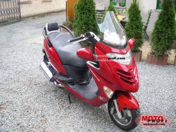 2006 Kymco Dink Yager 50 A/C