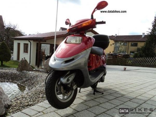 Kymco Heroism 125 - always reliable, always undated