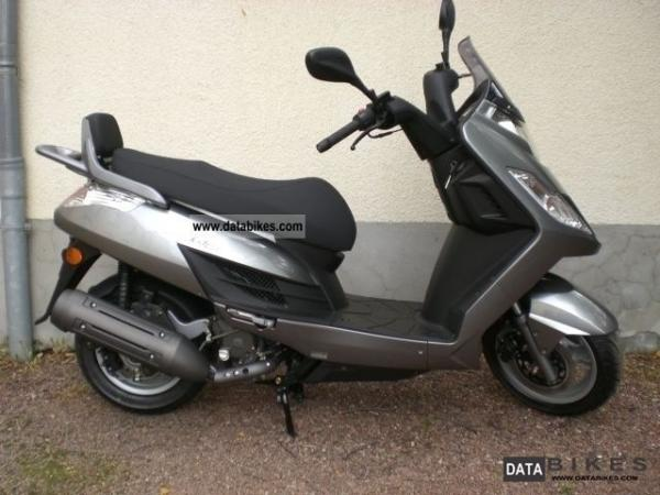 2011 Kymco Yager GT 125