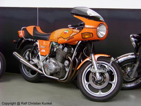 Laverda 1000 Jota still holding the world popularity