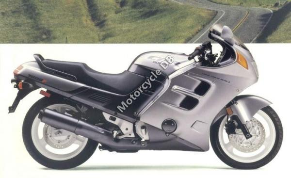 1988 Laverda 600 SFC (reduced effect)
