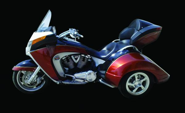 Lehman Trikes Crossbow redefining the concept of luxury touring trike