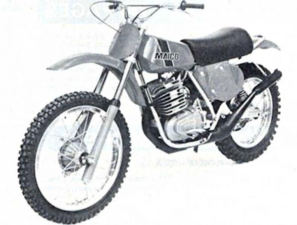 1987 Maico GP 250 E (reduced effect)