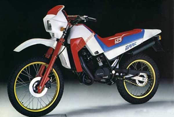 1984 Malanca 125 Mark Enduro