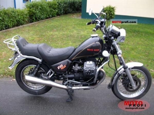 Moto Guzzi V65 Florida (reduced effect)
