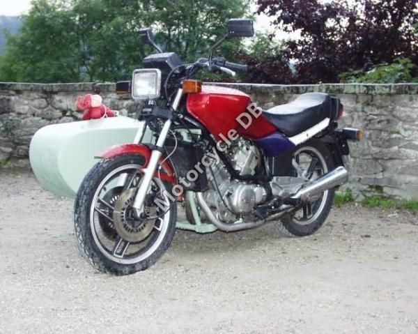 1987 MuZ ETZ 250 (with sidecar)