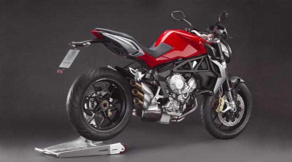 MV Agusta Brutale improving efficiency