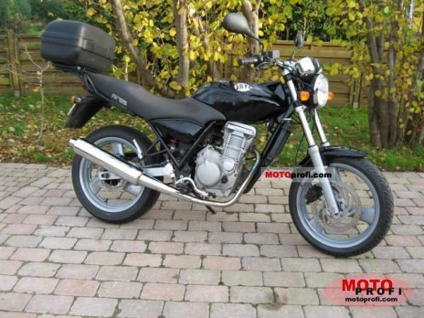 2007 MZ 125-RT Striker