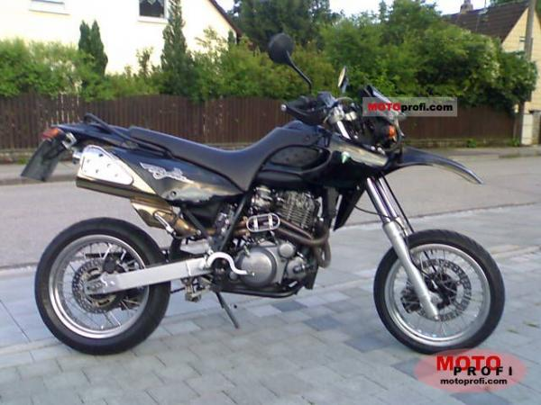 2001 MZ Baghira Black Panther