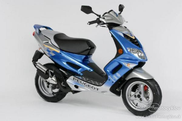 2009 Peugeot Speedfight 2 50
