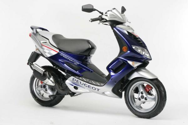 2008 Peugeot Speedfight Utlimate Edition