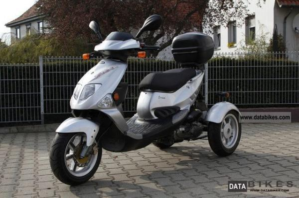 2007 PGO Tricycle 50