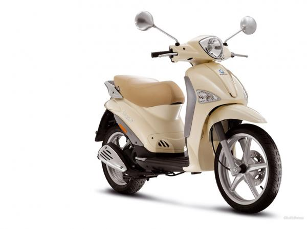 Piaggio Liberty Catalyzed