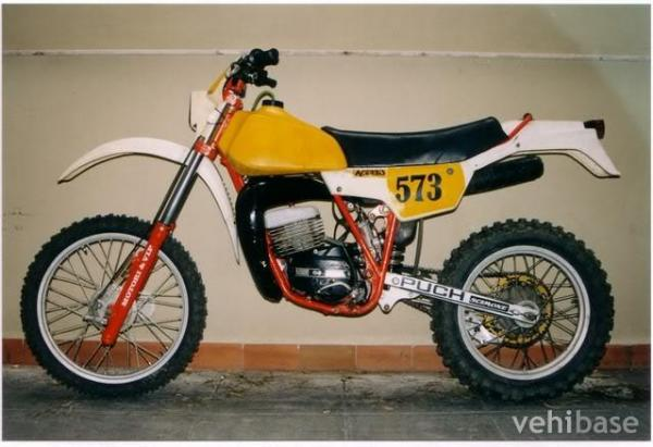 1985 Puch GS 250 F 5