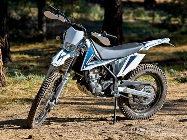 Scorpa T-Ride 250F conquers the challenges