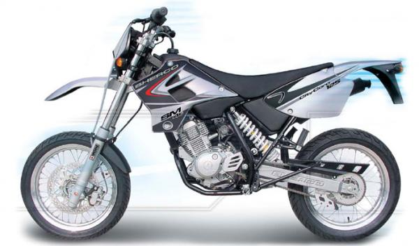 2007 Sherco 125 Supermotard