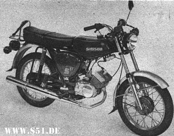 Simson S51 B1-4 still remaining a legend
