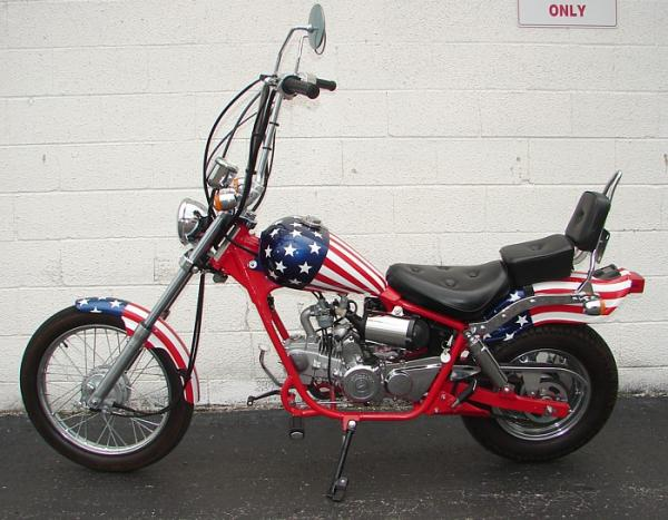 Stars and Stripes and a patriotic Pagsta Choppa