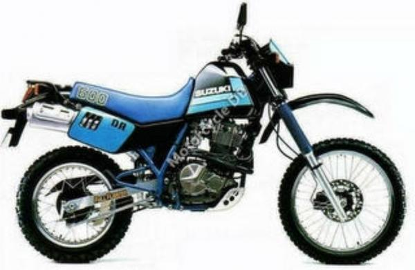 Suzuki DR 600 S (reduced effect)