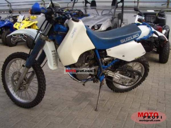 1990 Suzuki DR 650 R Dakar (reduced effect)