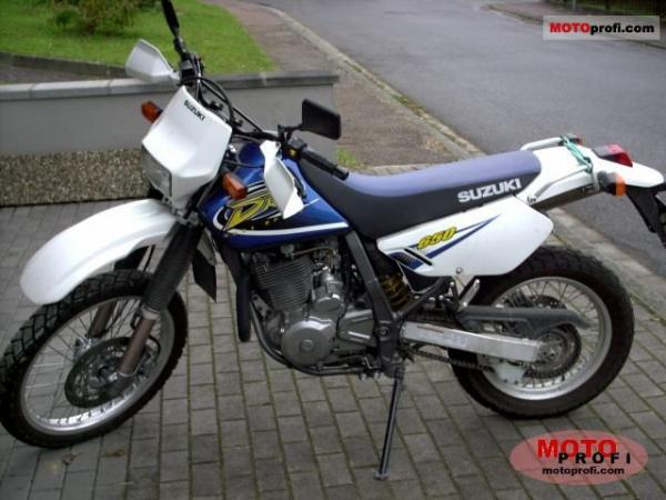 Suzuki DR 650 R Dakar (reduced effect)