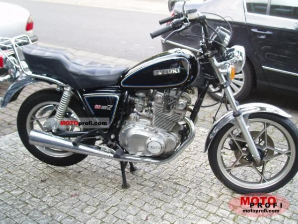 1981 Suzuki GS 450 L (reduced effect)