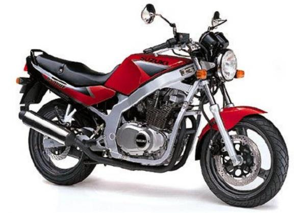 1990 Suzuki GS 500 E (reduced effect)
