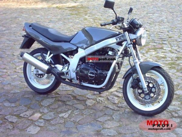 Suzuki GS 500 E (reduced effect) 1991 #1