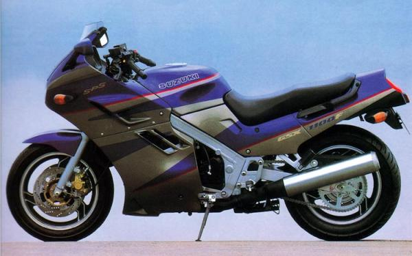 1988 Suzuki GSX 1100 F (reduced effect)