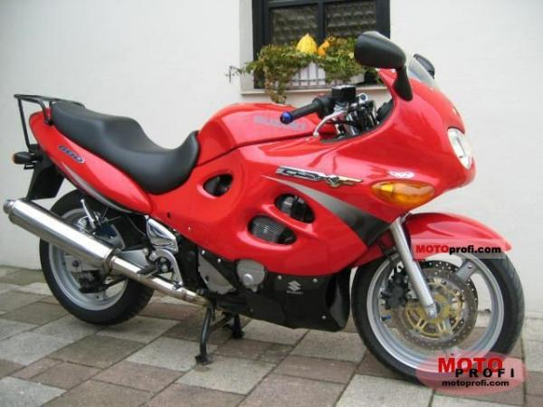 1990 Suzuki GSX 600 F (reduced effect)