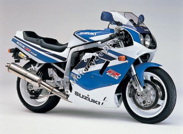 Suzuki GSX 750 F (reduced effect)