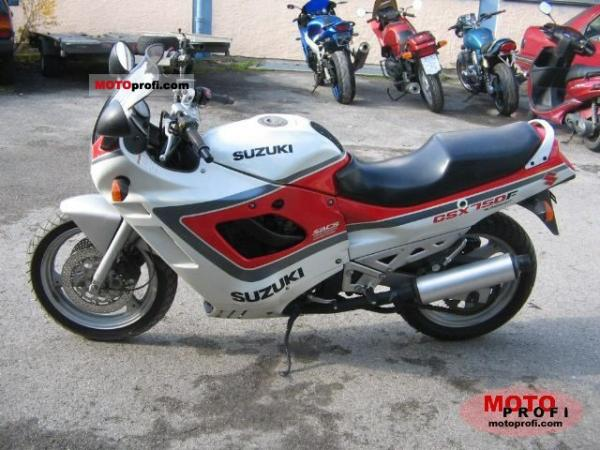 1992 Suzuki GSX 750 F (reduced effect)