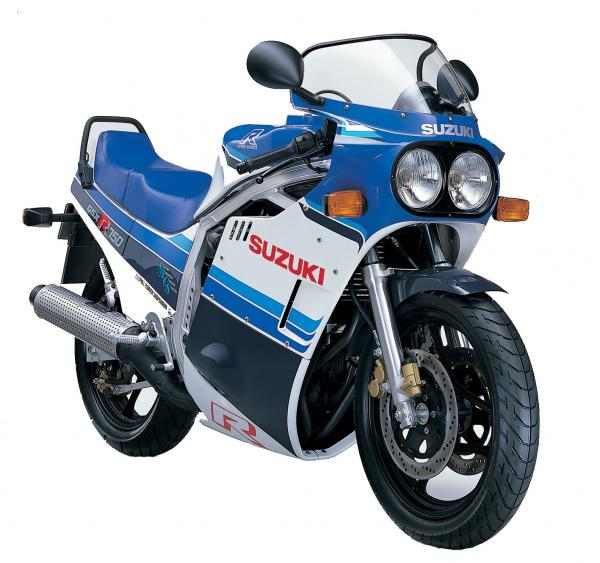 1985 Suzuki GSX-R 750 (reduced effect)