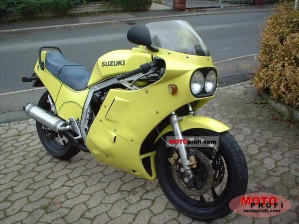 1987 Suzuki GSX-R 750 (reduced effect)