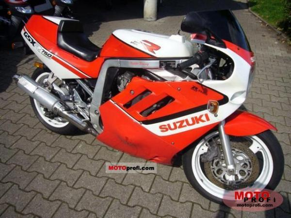 1989 Suzuki GSX-R 750 (reduced effect)