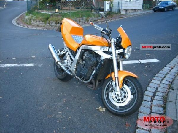 1992 Suzuki GSX-R 750 W (reduced effect)