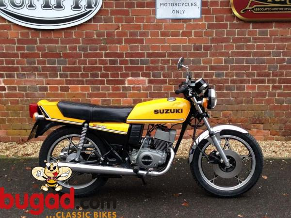 1981 Suzuki GT 200/X 5 E (spoked wheels)