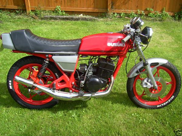 Suzuki GT 250/X 7 E (spoked wheels)