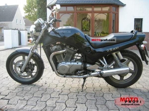 1992 Suzuki VX 800 (reduced effect)