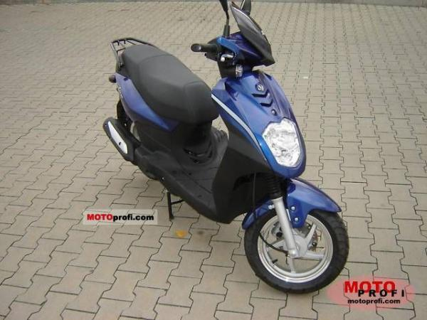 2008 Sym Orbit 125