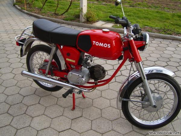 The classic will never be forgotten - Tomos 15 SLC